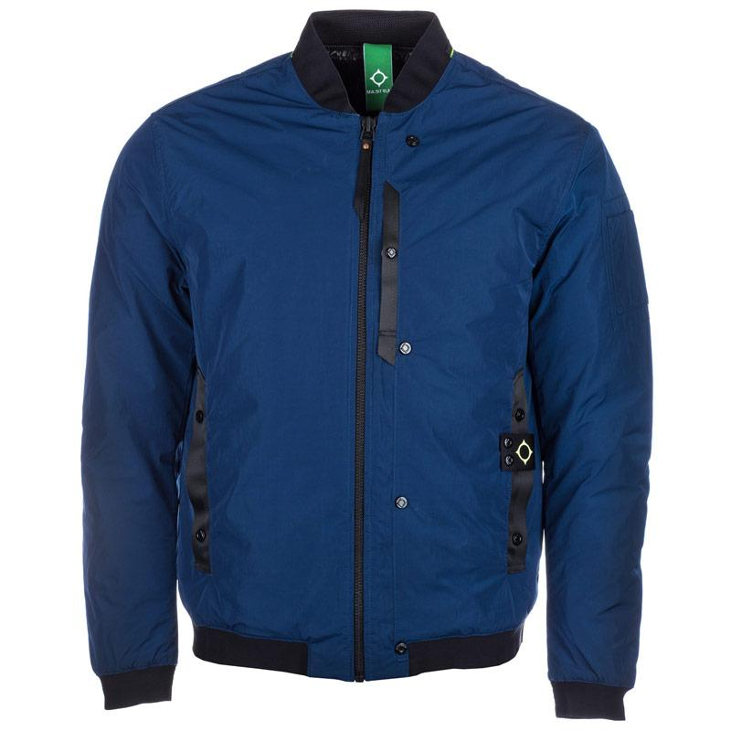 Bunda MA.STRUM Mens ID Flight Jacket Blue