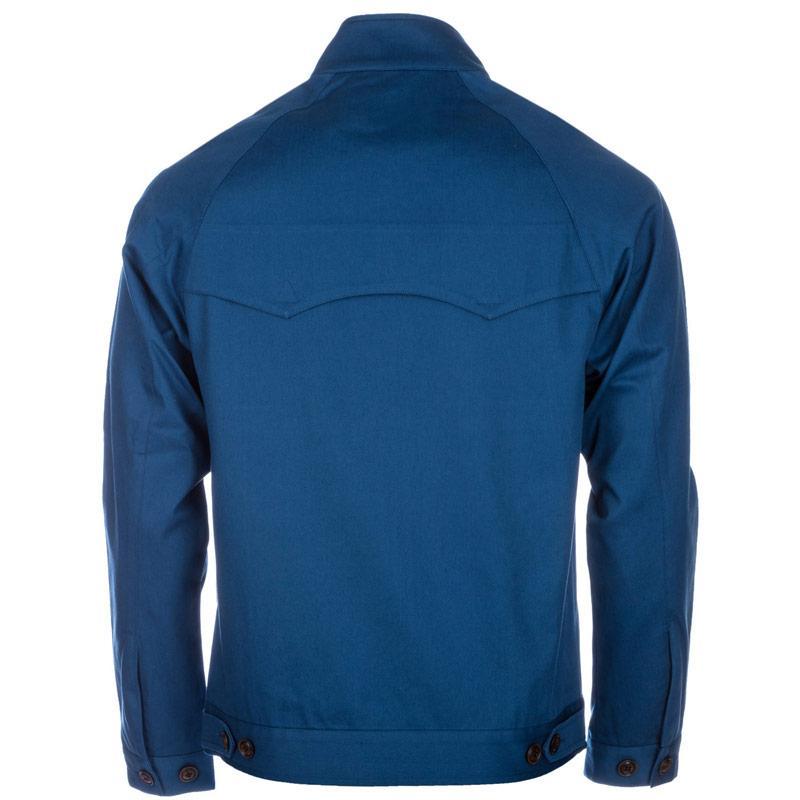 Bunda Gabicci Vintage Mens Twill Harrington Jacket Blue, Velikost: S