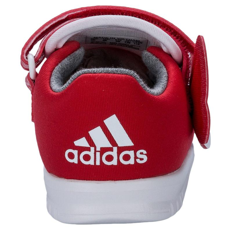 Adidas Infant Girls Disney Trainers Red