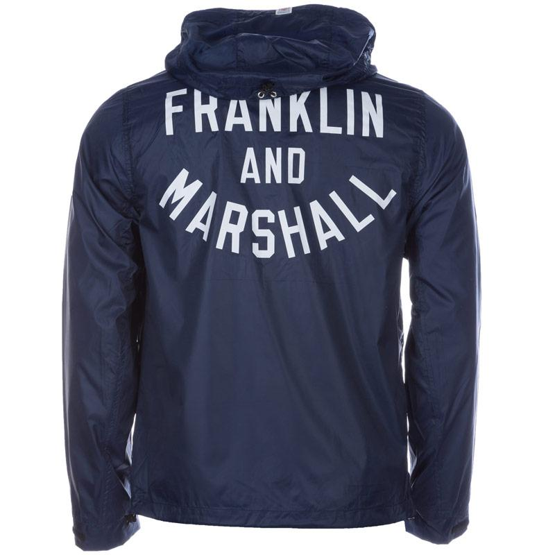 Bunda Franklin And Marshall Mens Varsity Jacket Blue, Velikost: S