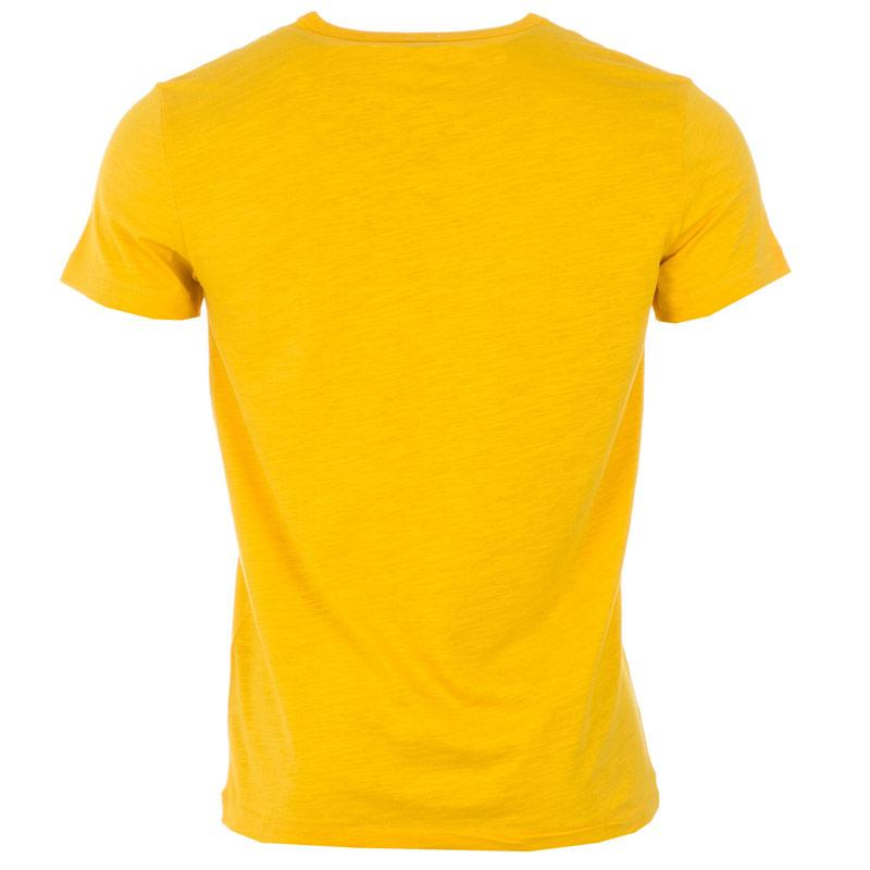 Tričko Replay Mens Logo T-Shirt Yellow