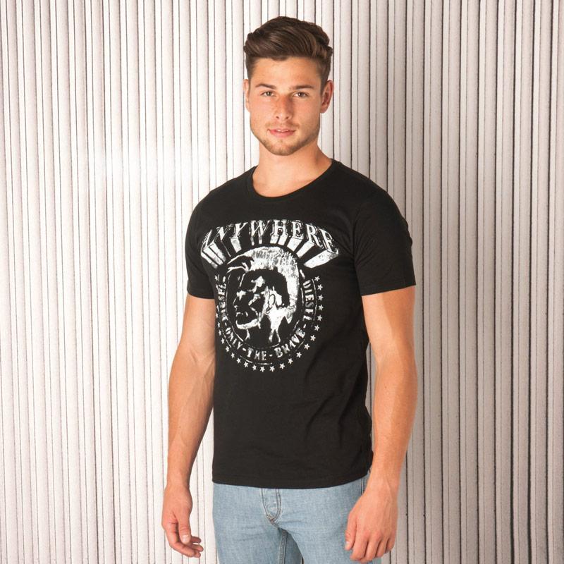 Tričko Diesel Mens T-Bert T-Shirt White