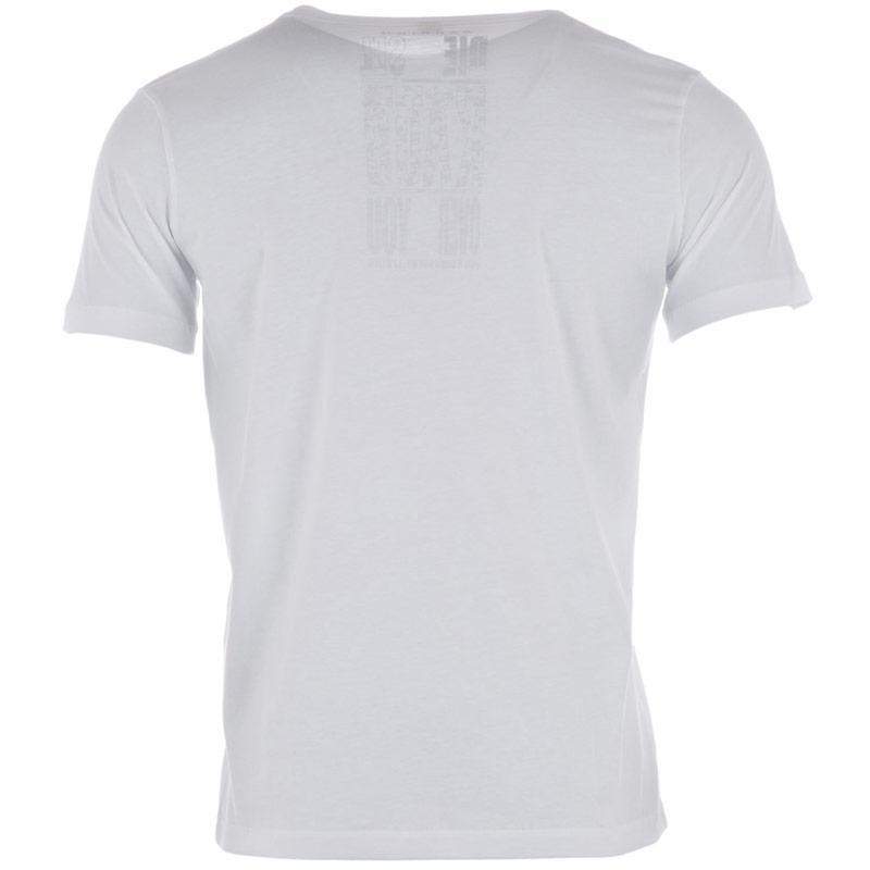 Tričko Diesel Mens T-The King T-Shirt White