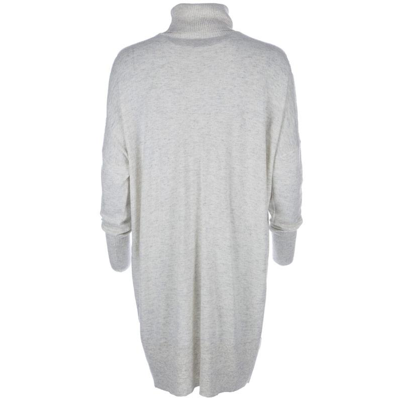 Svetr Vero Moda Womens Indi Wool Jumper Light Grey