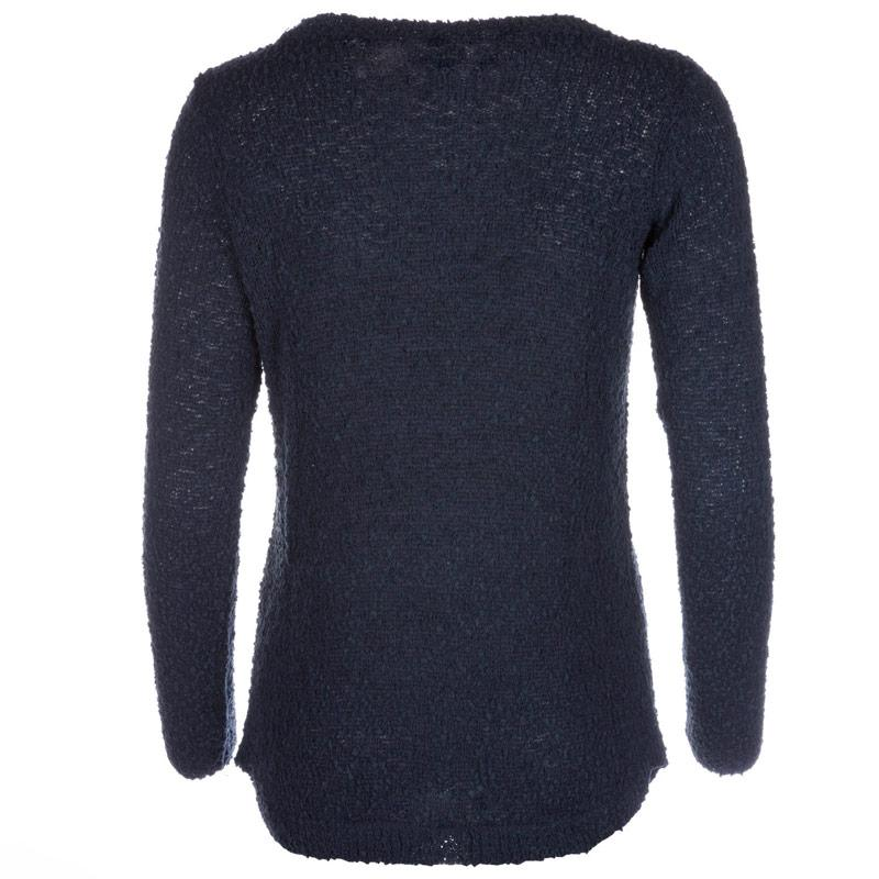 Svetr Vero Moda Womens Snow Knit Jumper Navy