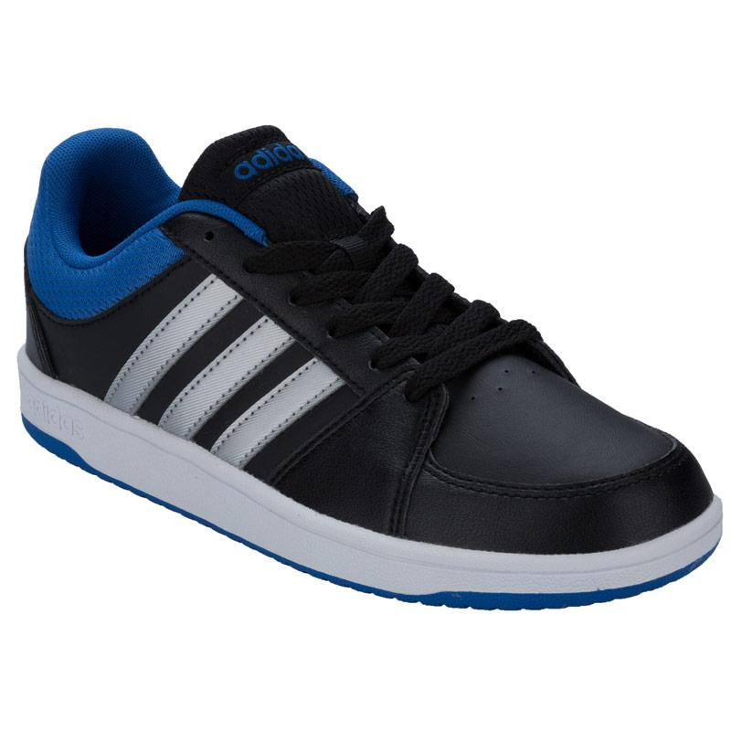 Boty Adidas Neo Junior Boys Hoops Trainers Black