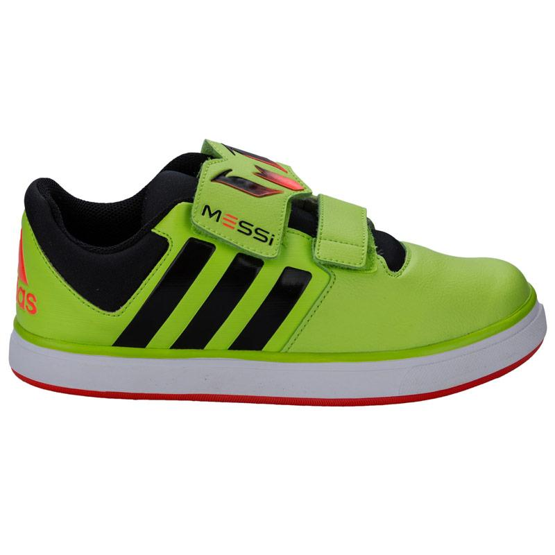 Boty Adidas Junior Boys Messi Trainers Lime