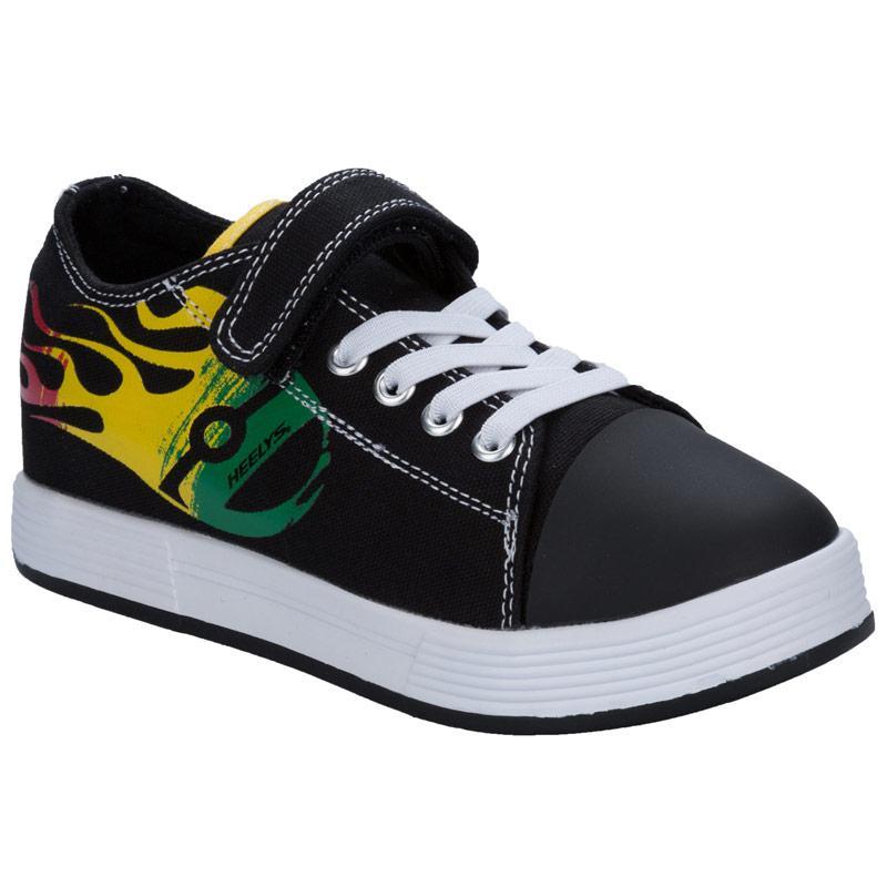 Boty Heelys Junior Boys Spiffy x 2 Trainers Black yellow