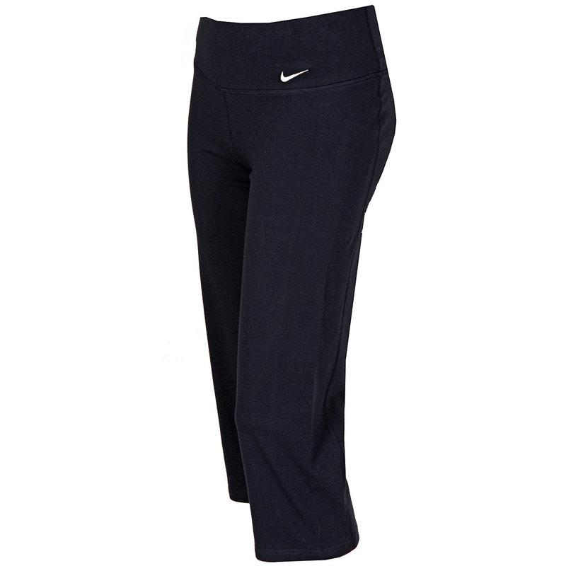 Nike Womens Regular Df Cotton Capri Pants Navy