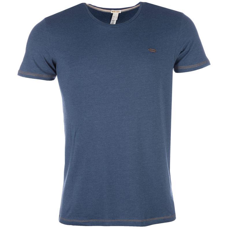 Tričko Diesel Mens Umtee-Randal T-Shirt Denim, Velikost: S