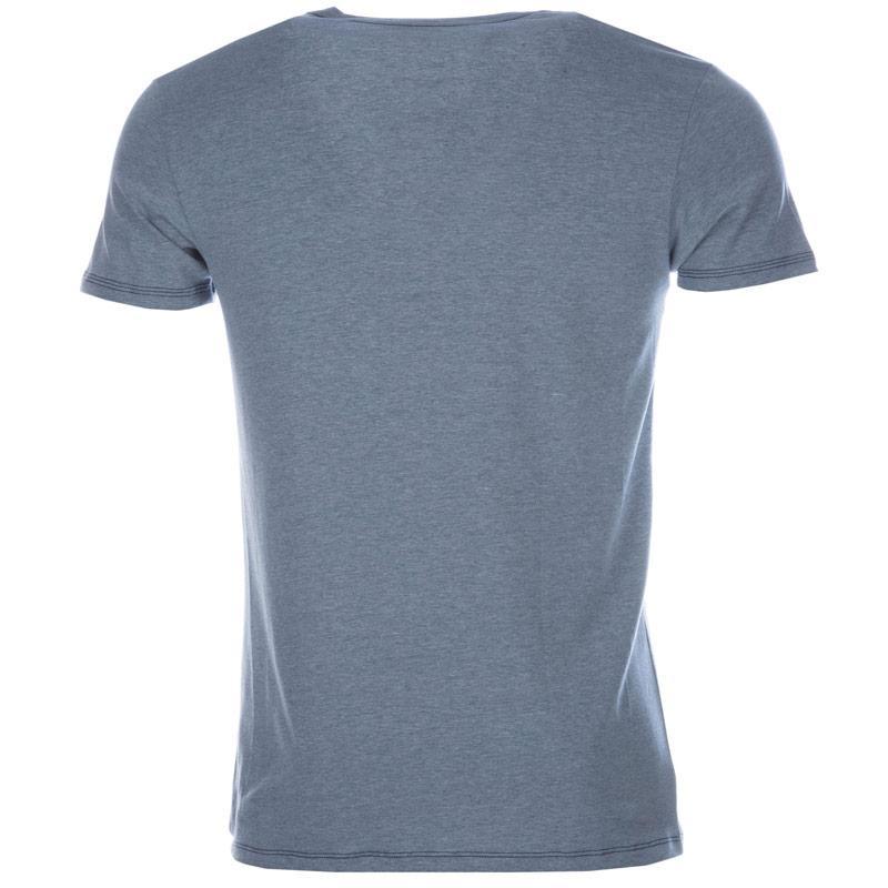 Tričko Diesel Mens Umtee-Randal T-Shirt Blue, Velikost: S