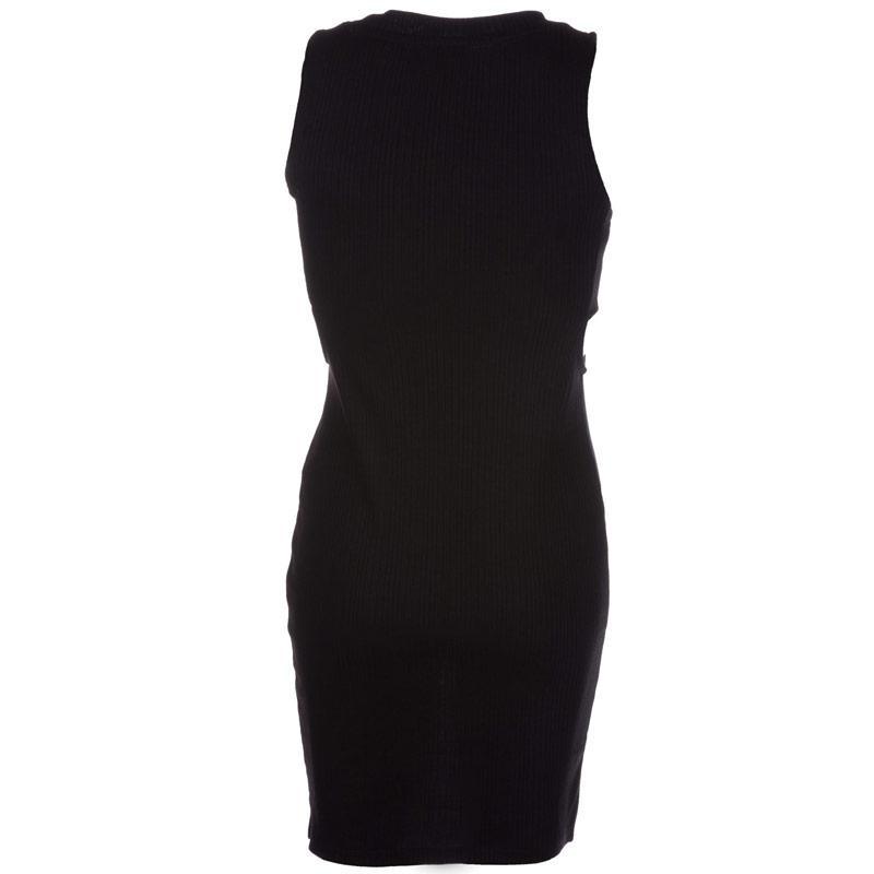 Šaty Vero Moda Womens Erica Sleeveless Cut Out Dress Black
