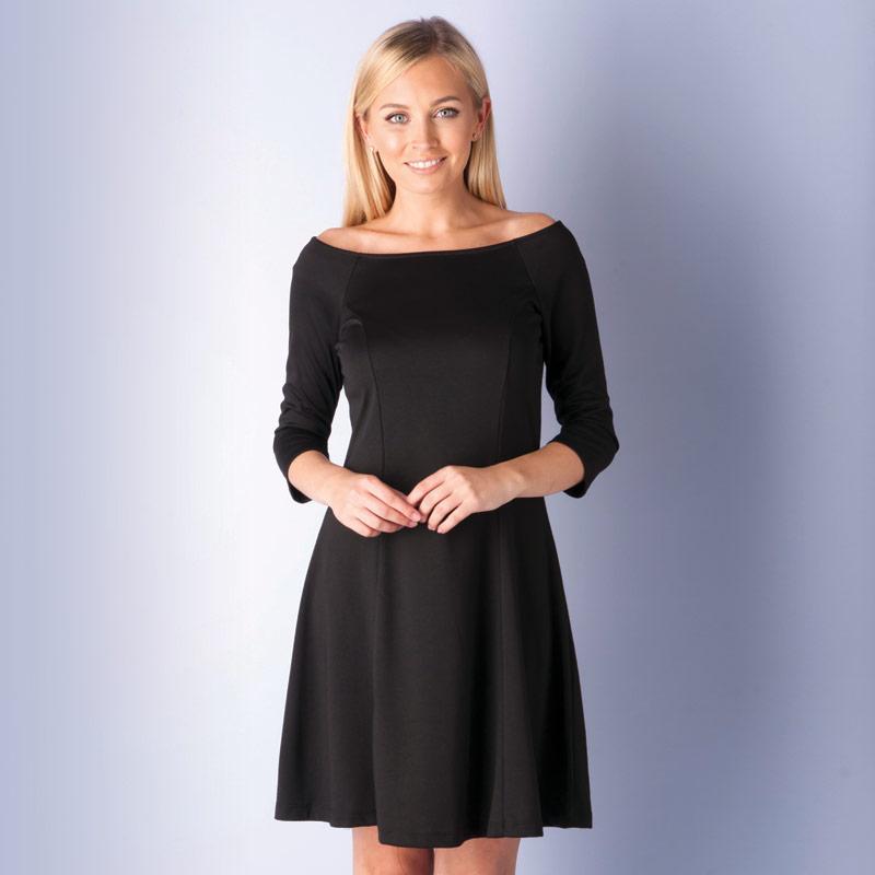 Šaty Vero Moda Womens Kari Dress Black