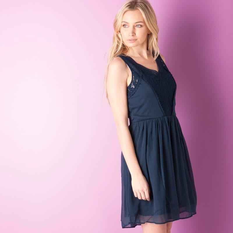 Šaty Vero Moda Womens Freja Mini Dress Rose