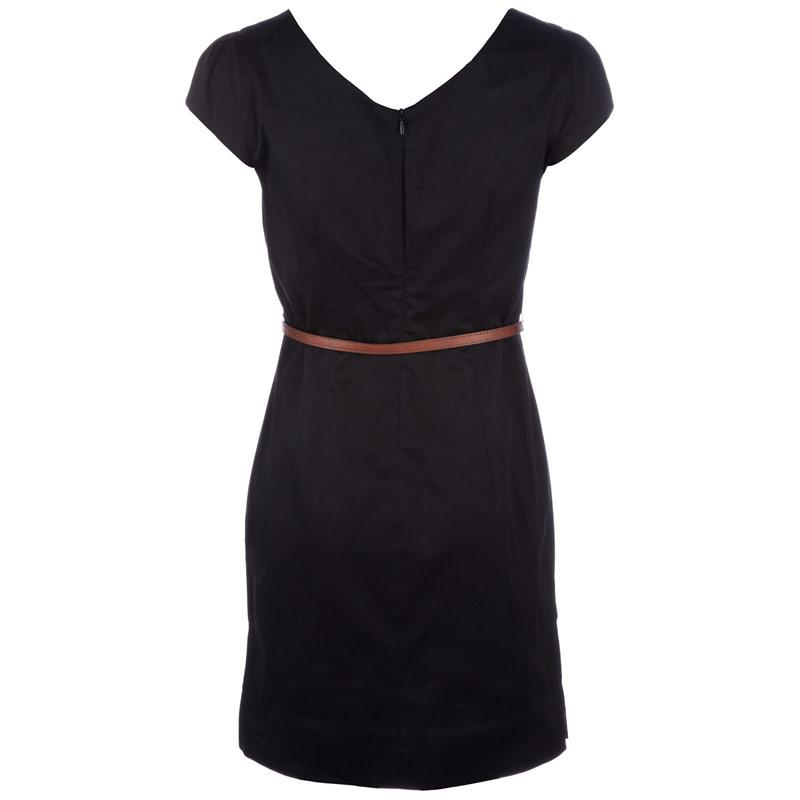 Šaty Vero Moda Womens Kaya Dress Black