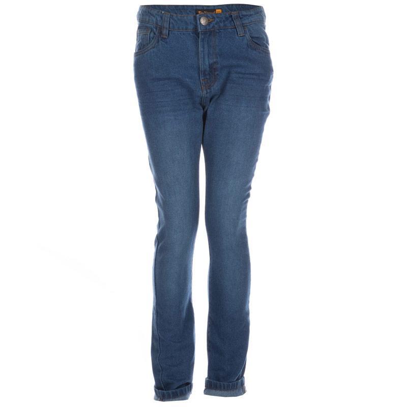 Kalhoty Ben Sherman Infant Boys 5 Pocket Stonewash Jeans Denim