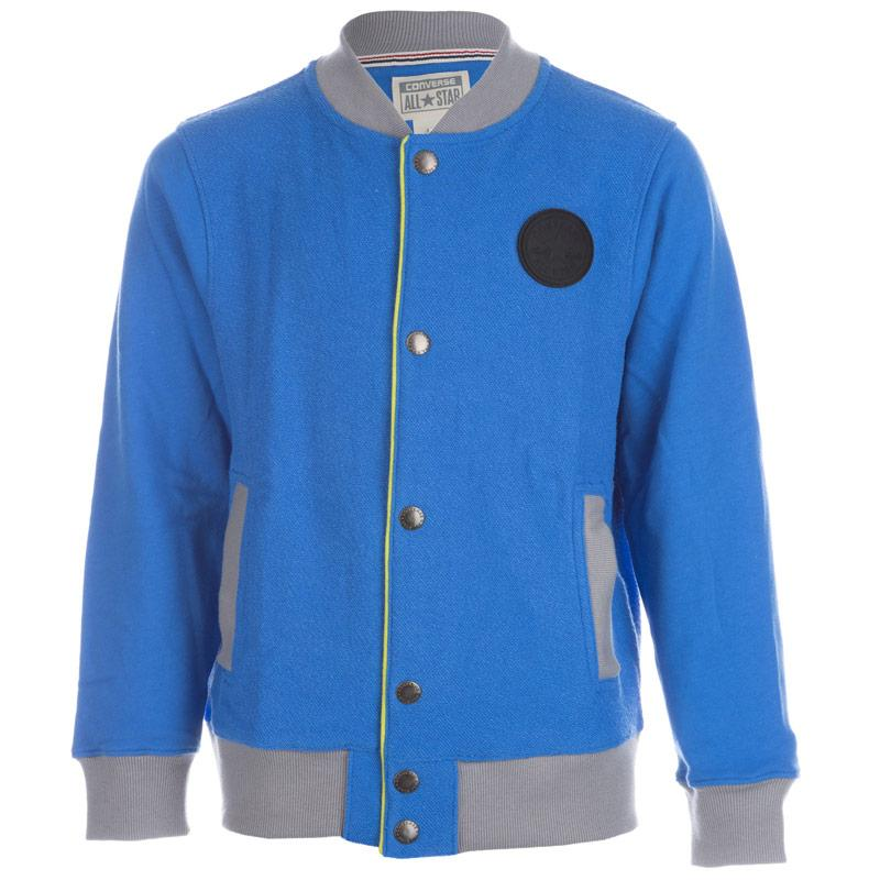 Bunda Converse Infant Boys Baseball Jacket Blue