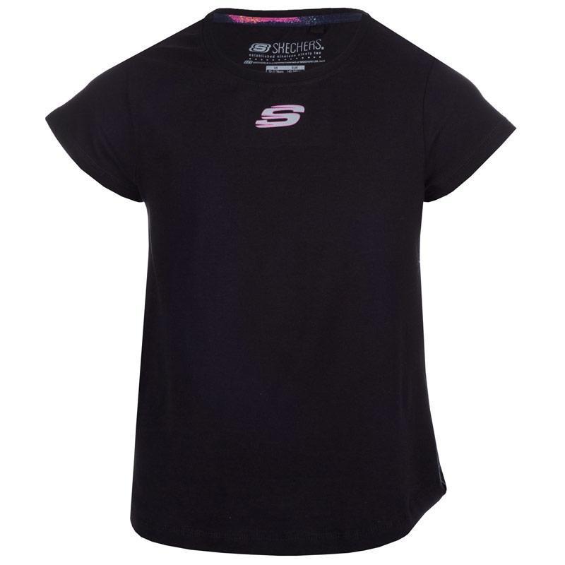 Skechers Junior Girls Lexi T-Shirt Black