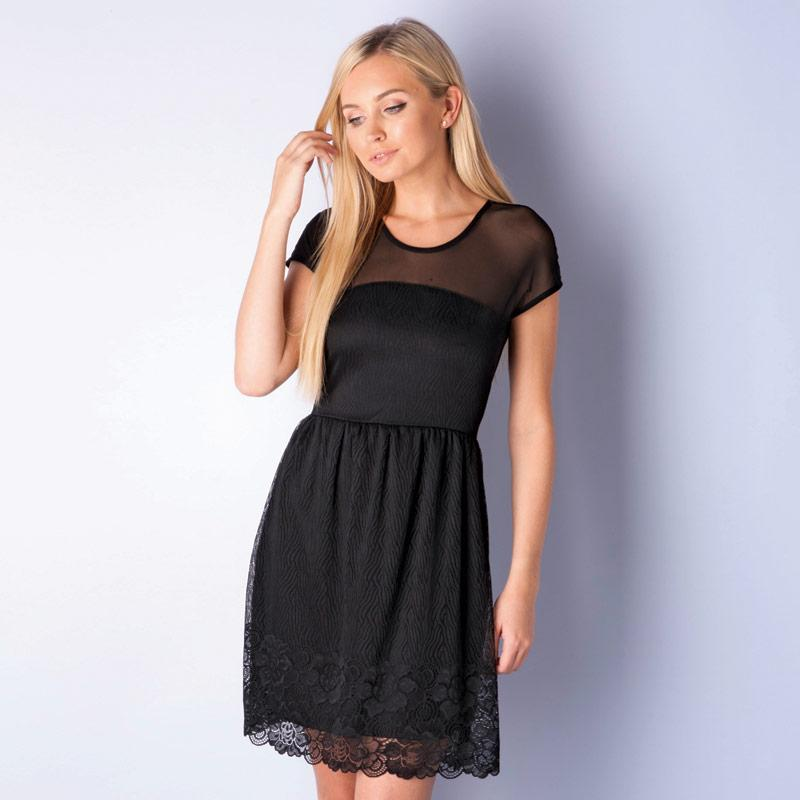 Šaty Vero Moda Womens Galia Dress Rust