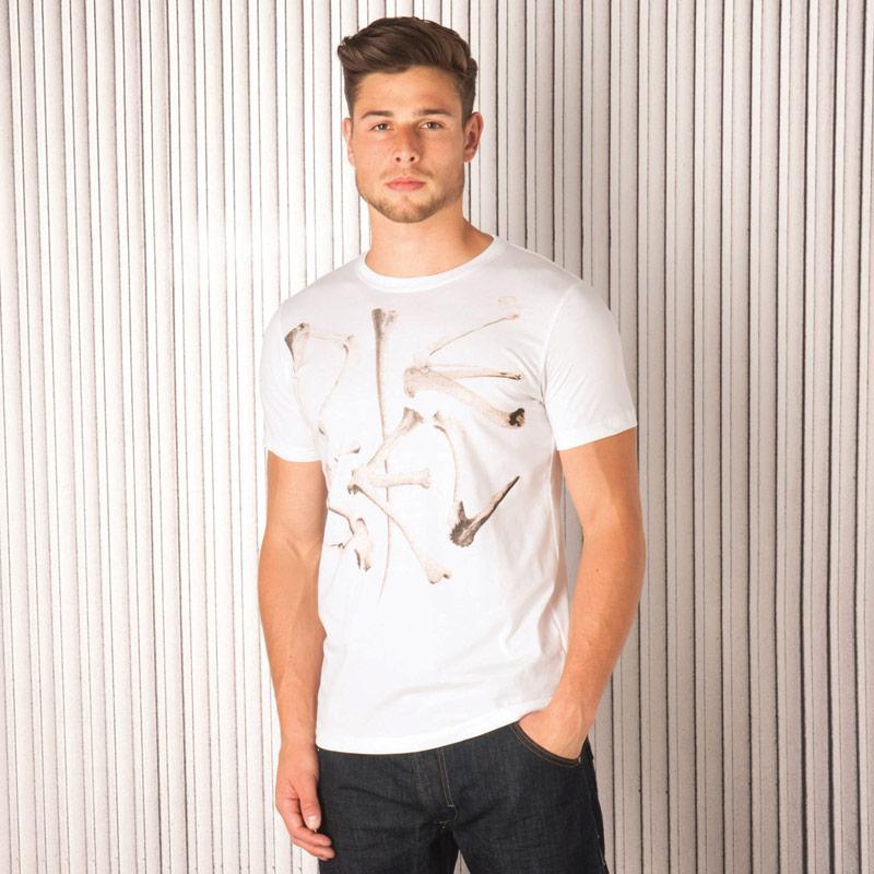 Tričko Diesel Mens T-Elko T-Shirt White