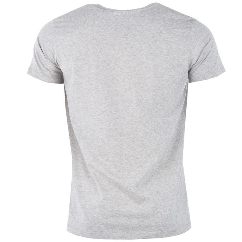 Tričko Diesel Mens T7-Mohican T-Shirt Grey