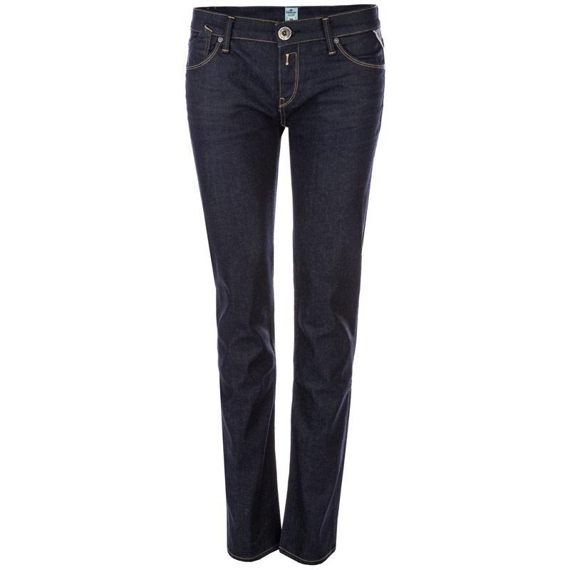 Replay Womens Rockxanne Slim Fit Jeans Denim