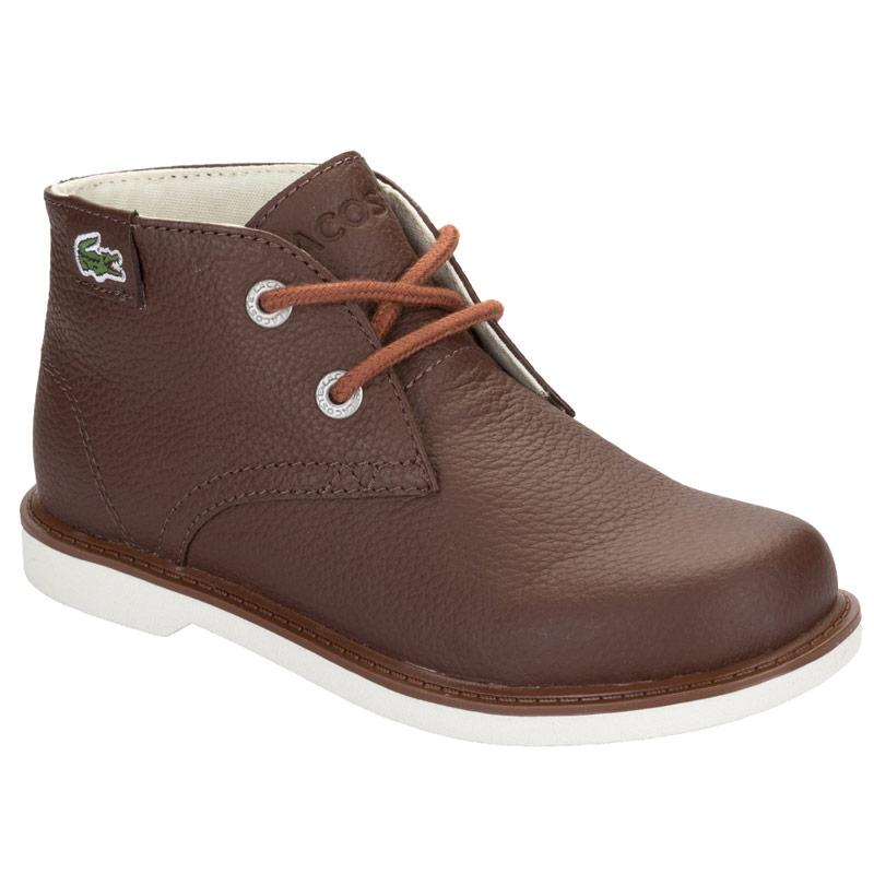 Lacoste Children Boys Sherbrook Boots Brown