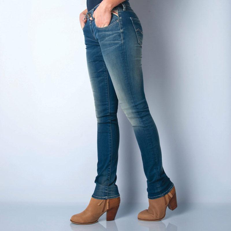 Replay Womens Jodey Slim Jeans Denim