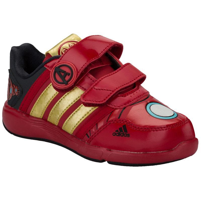 Boty Adidas Children Boys Marvel Avengers Trainers Red