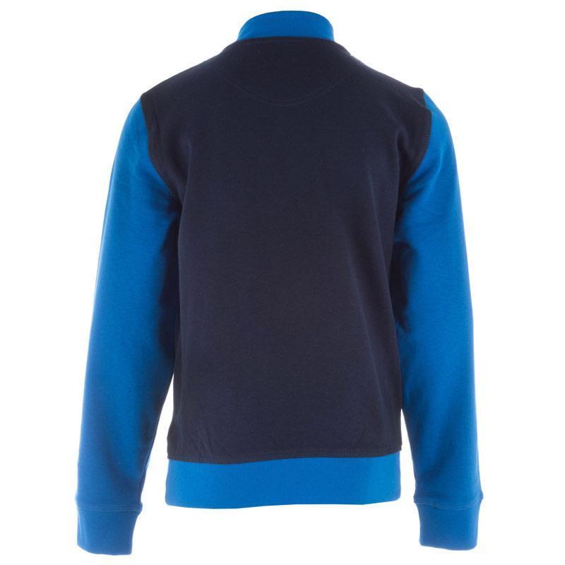Bunda Converse Junior Boys Baseball Jacket Blue
