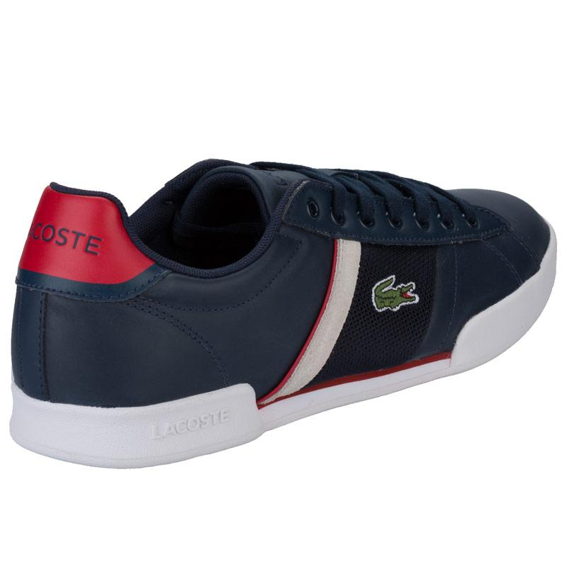Boty Lacoste Mens Deston Trainers Charcoal, Velikost: UK6 (euro 39)