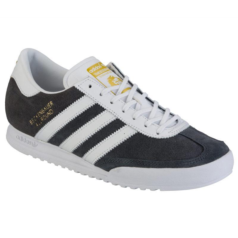 Boty Adidas Originals Mens Beckenbauer Trainers Grey