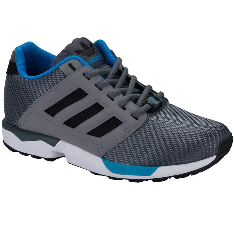 Boty Adidas Originals Mens ZX Flux 2.0 Trainers Grey