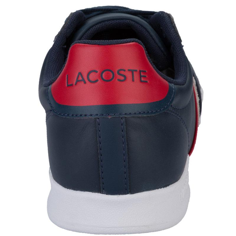 Boty Lacoste Mens Deston Trainers Navy, Velikost: 12 (M)
