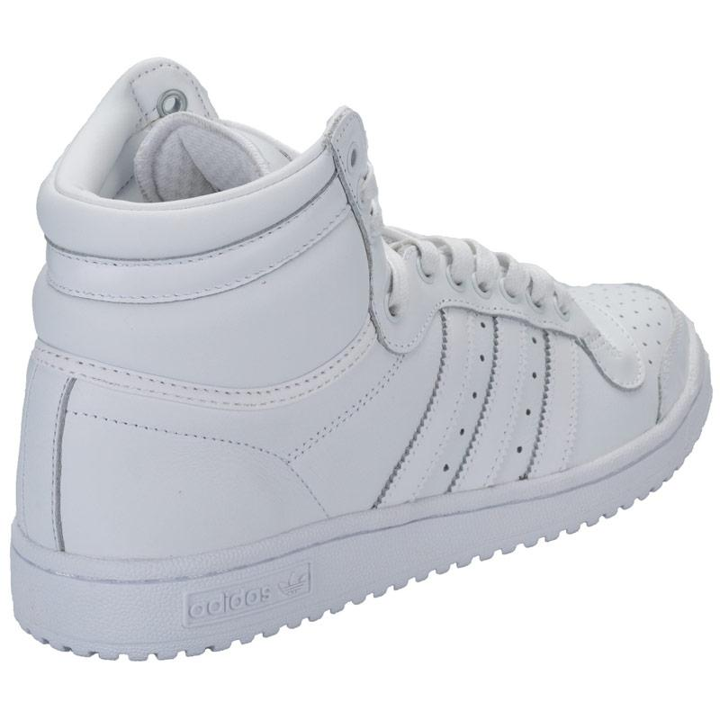 Boty Adidas Originals Mens Top Ten HI Trainers White, Velikost: UK6 (euro 39)