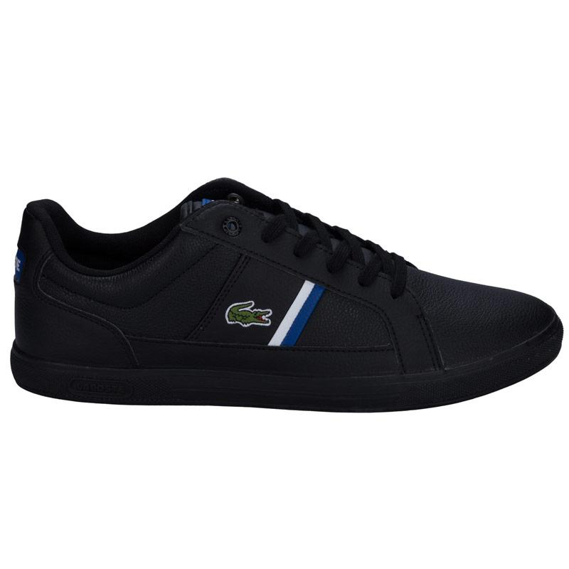 Boty Lacoste Mens Europa Trainers Black, Velikost: UK7 (euro 41)