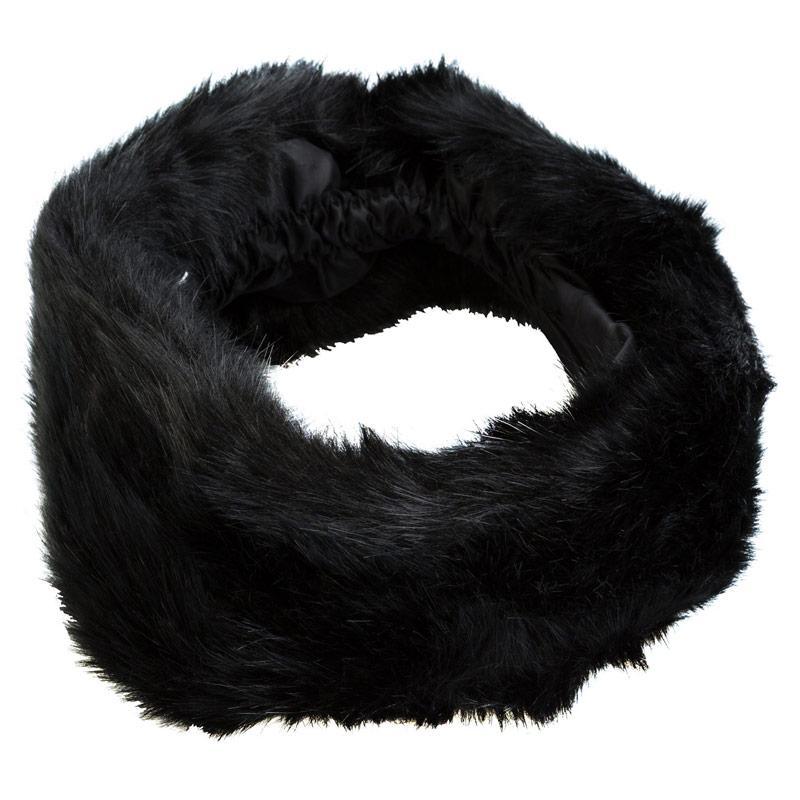 Vero Moda Womens Alexandra Fury Headband Black