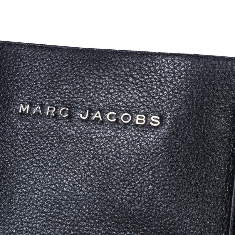 Marc Jacobs Womens Wingman Shopping Bag Black