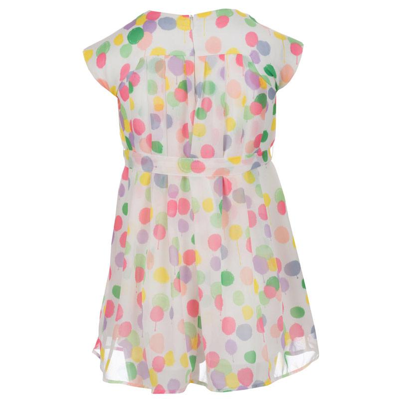 Šaty French Connection Junior Girls Pleat Front Dress White