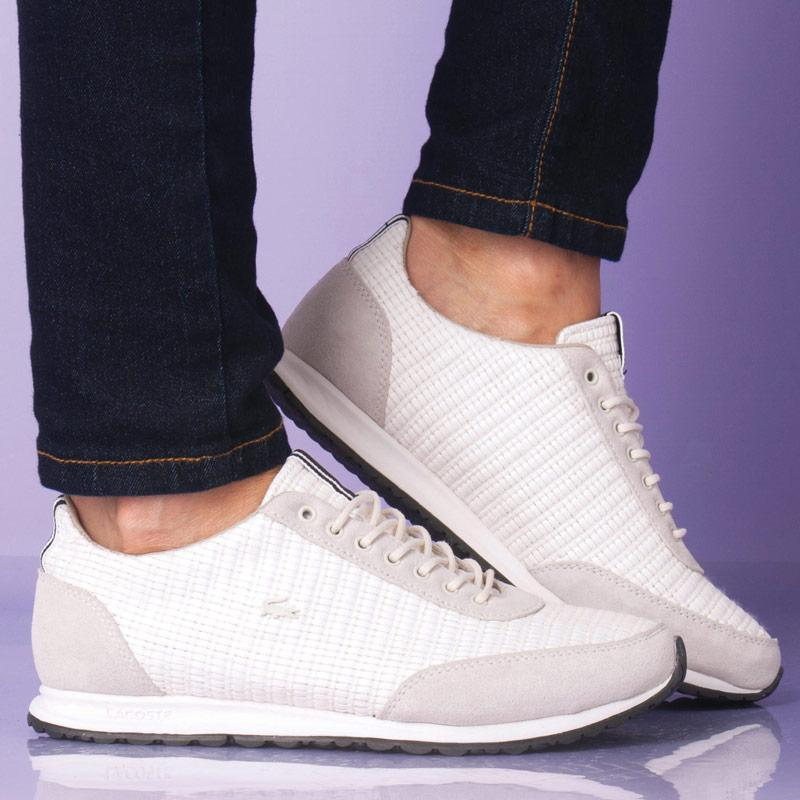 Boty Lacoste Womens Helaine Runner 6 Trainers Off White