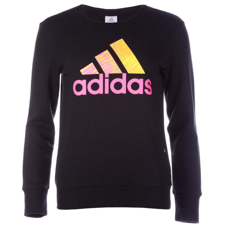 Adidas Womens Performance Logo Hoody Black