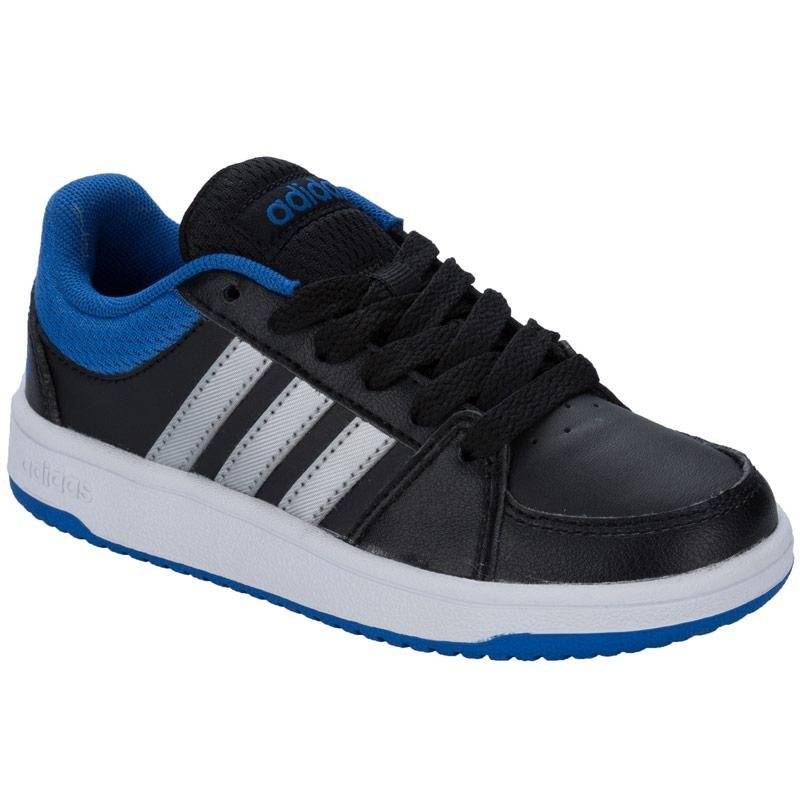 Boty Adidas Neo Children Boys Hoops Trainers Black