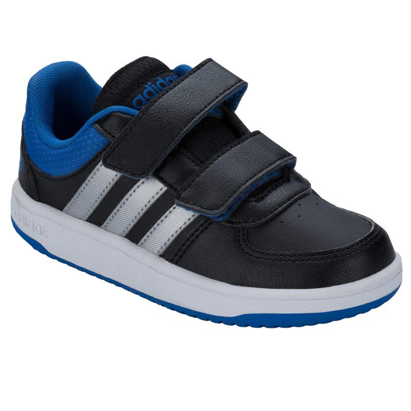 Boty Adidas Neo Children Boys VS Hoops Trainers Black