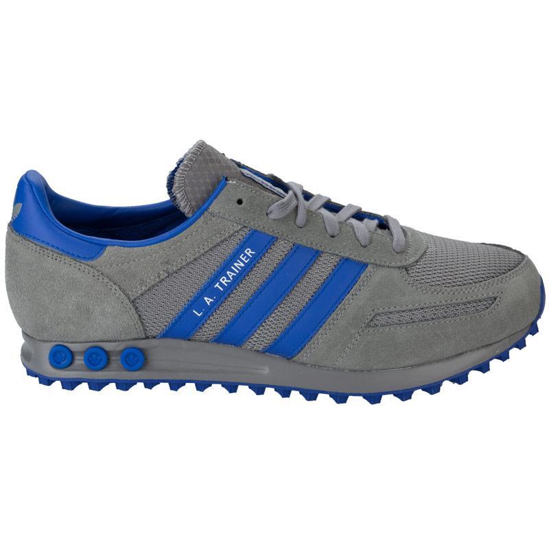 Boty Adidas Originals Mens LA Trainers Grey, Velikost: 8 (XS)