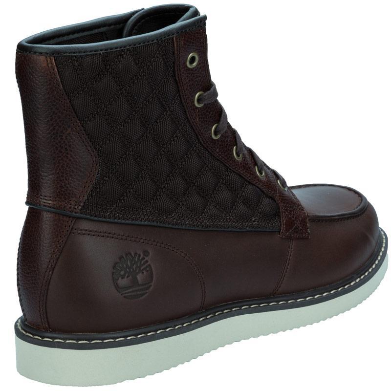 Boty Timberland Mens Newmarket Moc Boot Black, Velikost: 8 (XS)