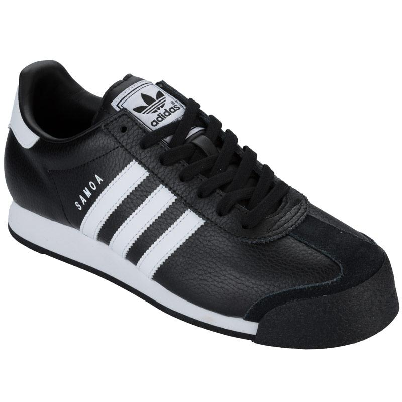 Boty Adidas Originals Mens Samoa Trainers Black