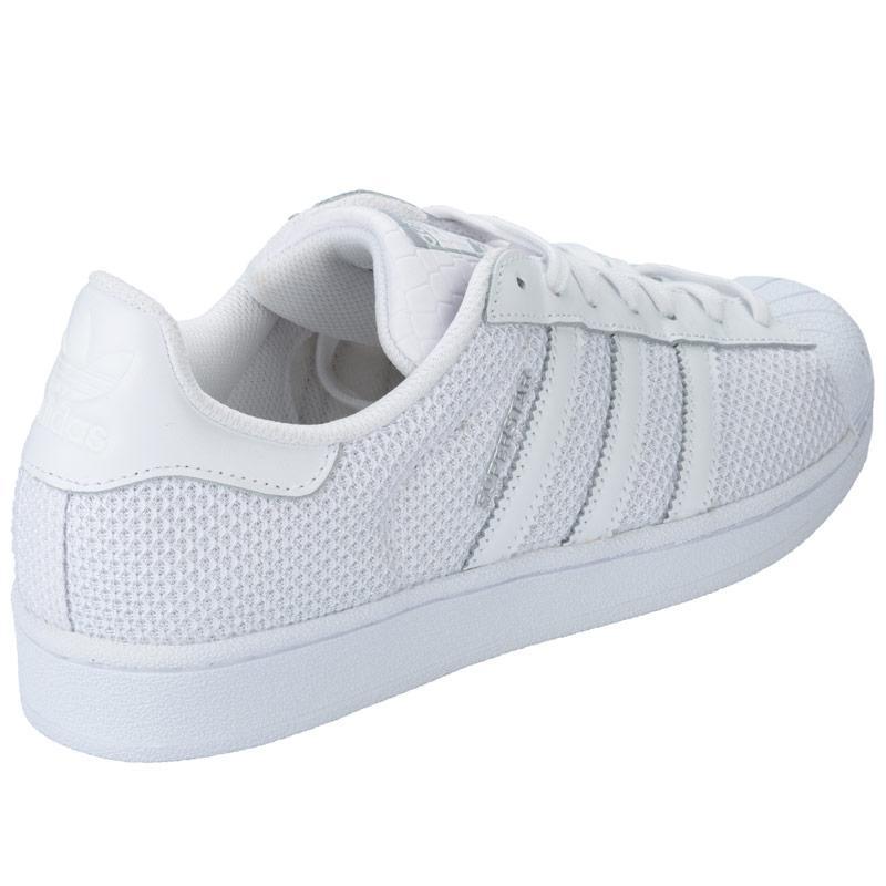 Boty Adidas Originals Mens Superstar Trainers White, Velikost: 12 (M)