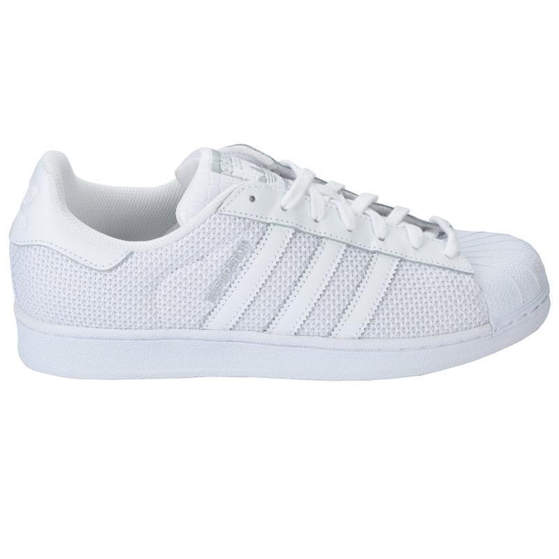Boty Adidas Originals Mens Superstar Trainers White