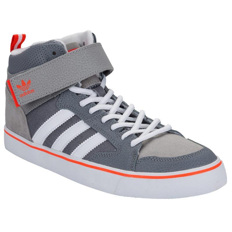 Boty Adidas Originals Mens Varial II Mid Trainers Grey