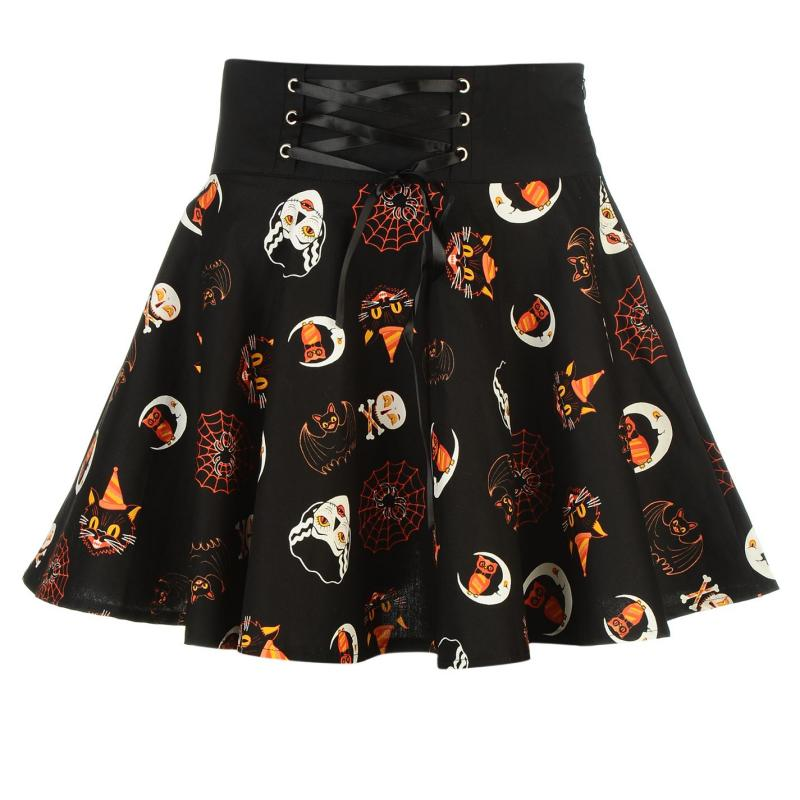 Šaty Banned Tie Skirt Ladies Halloween